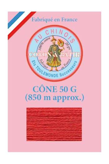 Tacking thread 850m cone - Red