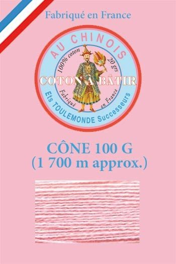 Tacking thread 1 700 m cone - Pink