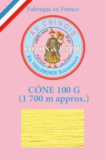 Tacking thread 1 700 m cone - Yellow
