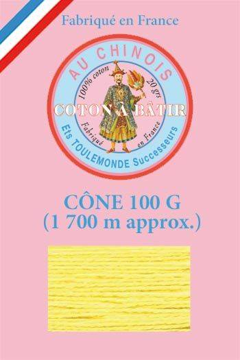 Tacking thread 1 700 m cone - Yellow