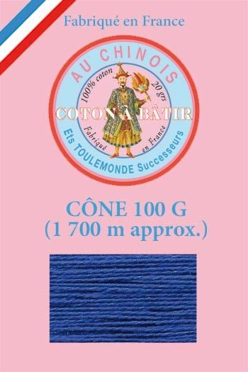 Tacking thread 1 700 m cone - Navy blue