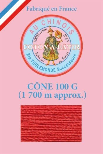 Tacking thread 1 700 m cone - Red