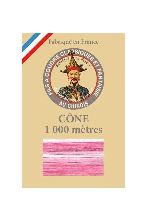 Variegated thread 1000m Cone n°115 - Pink