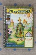 Note book Fil Au Chinois 1914