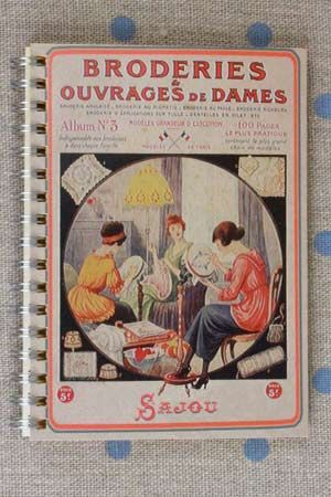 Sajou Spiral bound note book - 50 daffodil pages - Thonon