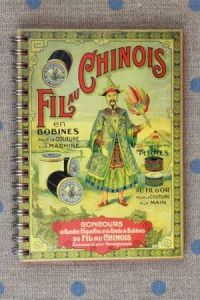 Note book Fil Au Chinois 1900