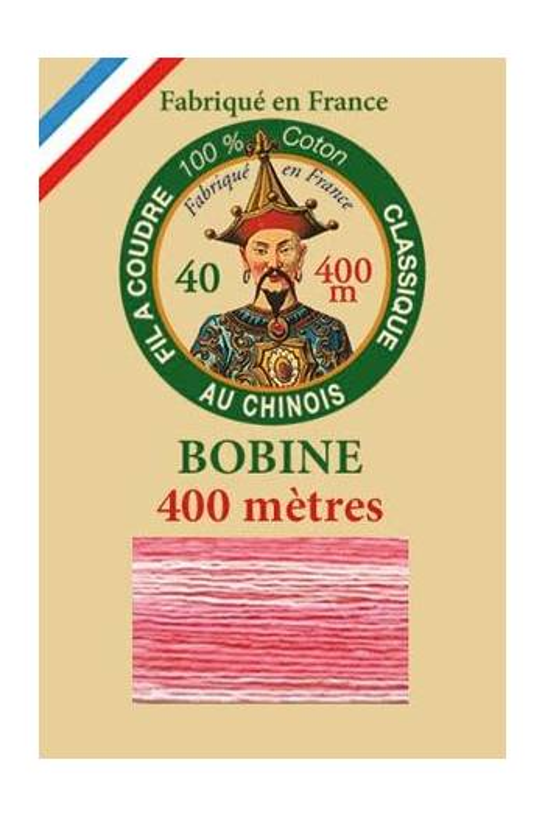 Fil Au Chinois 400m spool cotton thread 6930 - Sugared Almond