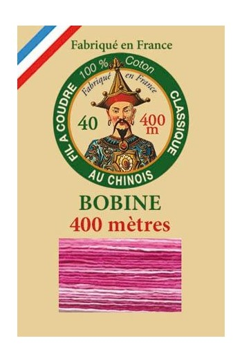 Fil Au Chinois 400m spool cotton thread 6931 - Bonbon