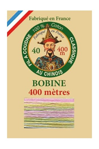 Fil Au Chinois 400m spool cotton thread 6951 - Cuddle