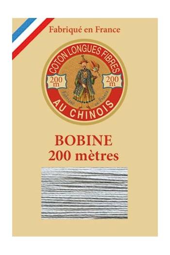 Fil de coton d'Égypte Col. n° 6110 - Souris bobine bois 200 m