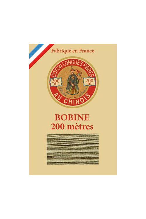 Bobine bois Fil de Coton n° 6297 - Beige