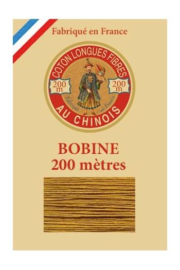 Fil de coton d'Égypte Col. 6354 - Caramel bobine bois 200 m