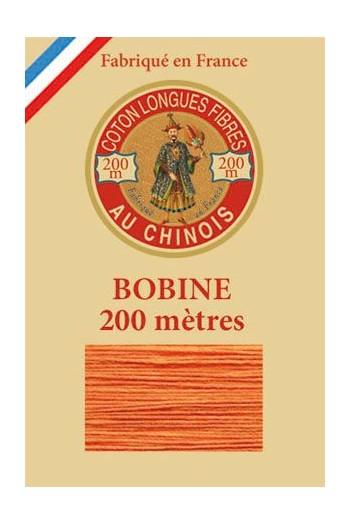 Fil de coton d'Égypte Coloris 6390 - Souci bobine bois 200 m