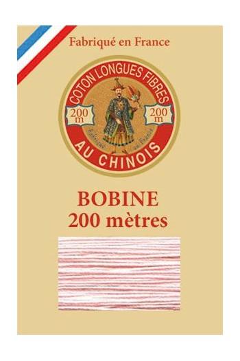 Fil de coton d'Égypte Coloris 6586 - Poudre bobine bois 200 m
