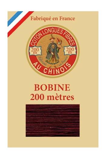 Fil de coton d'Égypte Coloris 6546 - Evêque bobine bois 200 m