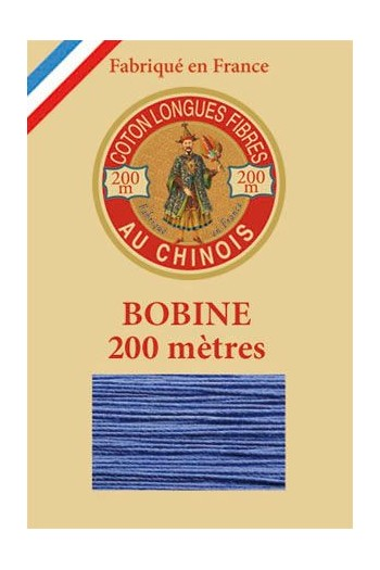 Bobine bois Fil de Coton n°6731 - Bleuet