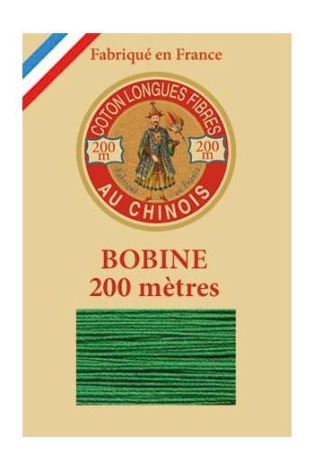 Fil de coton d'Égypte Coloris 6866 - Jardin bobine bois 200 m