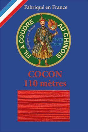 110m Valois cocoon classic cotton thread 6539 - Strawberry