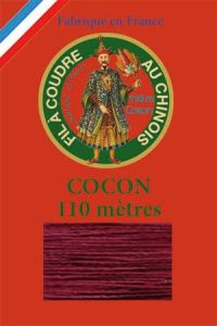 110m Valois cocoon classic cotton thread 6549 - Bordeaux