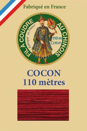 110m Valois cocoon classic cotton thread 6535 - Burgundy