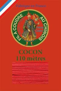 110m Valois cocoon classic cotton thread 6532 - Geranium