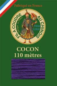 110m Valois cocoon classic cotton thread 6631 - Violet