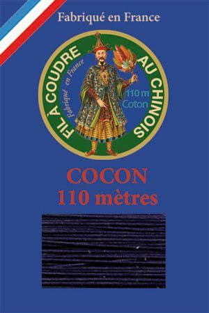110m Valois cocoon classic cotton thread 6784 - Navy Blue