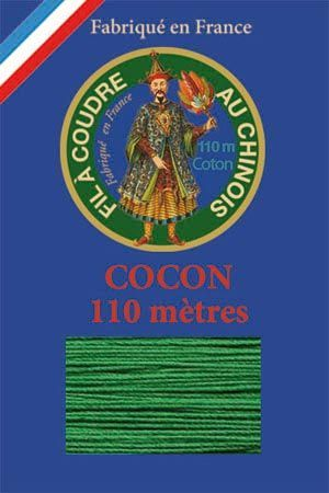 110m Valois cocoon classic cotton thread 6867 - Green