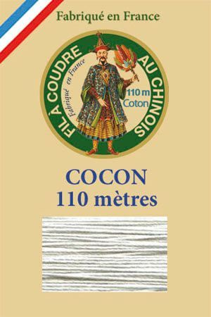 110m Valois cocoon classic cotton thread 6108 - Light Grey