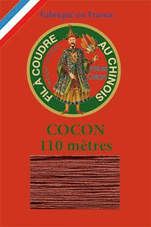 110m Valois cocoon classic cotton thread 6440 - Chestnut
