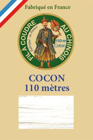 110m Valois cocoon classic cotton thread 6100 - White