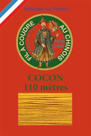110m Valois cocoon classic cotton thread 6362 - Gold
