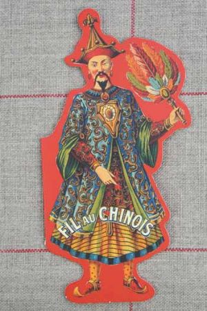 15 embroidery needles - Fil Au Chinois booklet
