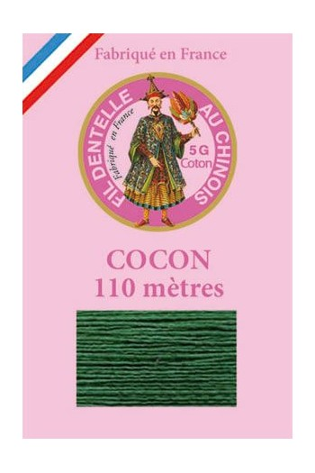 Coloured lace cotton thread Calais Cocoon 6878 - Garden