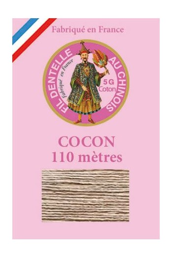 Coloured lace cotton thread Calais Cocoon 6245 - Resin