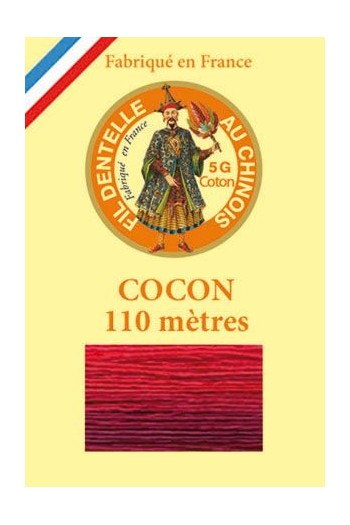 Calais cocoon cotton variegated thread 6932 - Fire