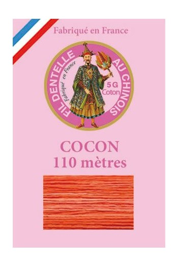 Calais cocoon cotton variegated thread 6937 - Nasturtium