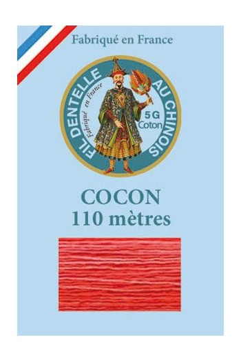 Calais cocoon cotton variegated thread 6933 - Cherry
