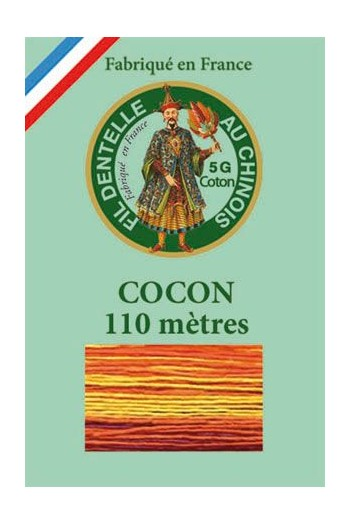 Calais cocoon cotton variegated thread 6943 - Autumn