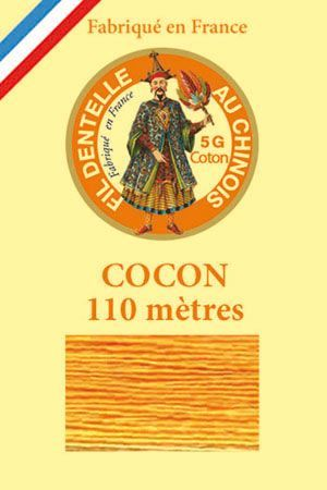Calais cocoon cotton variegated thread 6929 - Sunflower