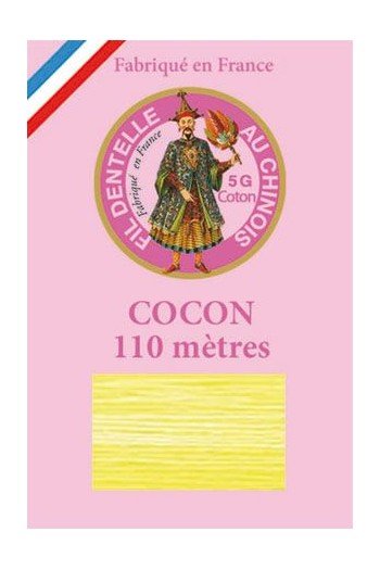 Calais cocoon cotton variegated thread 6940 - Lemon