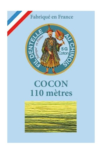 Calais cocoon cotton variegated thread 6941 - Absinthe