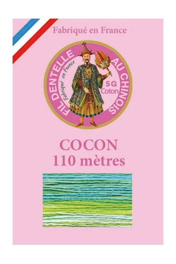 Calais cocoon cotton variegated thread 6948 - Tropical
