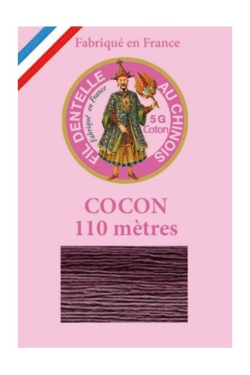 Calais cocoon cotton variegated thread 6946 - Blackcurrant
