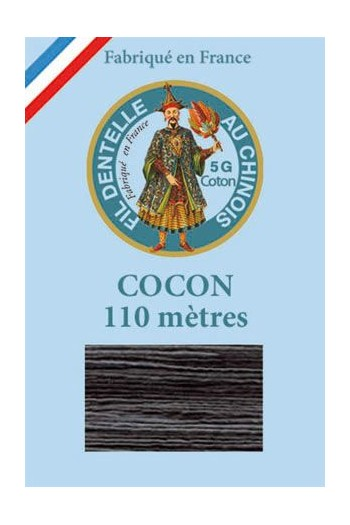Calais cocoon cotton variegated thread 6925 - Liquorice