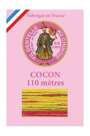 Fil dentelle Cocon Calais multicol. 6923 - Arlequin
