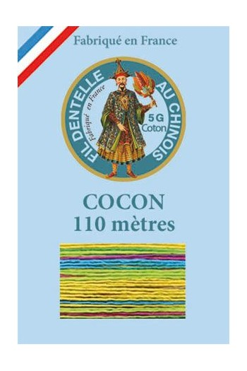 Calais cocoon cotton variegated thread 6924 - Brighton rock