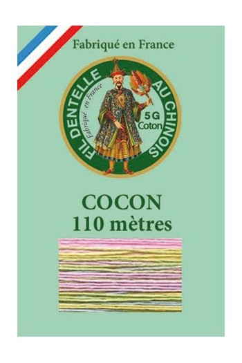 Calais cocoon cotton variegated thread 6951 - Cuddle