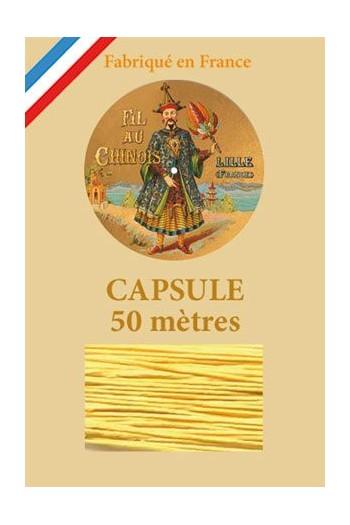 Capsule 50 m Fil de Lin n° 363 - Jaune d'Or