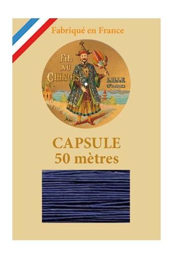 Capsule 50 m Fil de Lin n° 678 - Bleu Roy
